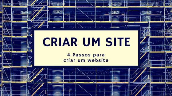 Como criar um site gratis